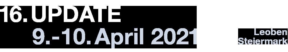 Gastro Update XVI 9. bis 10. April 2021 in Leoben, Österreich